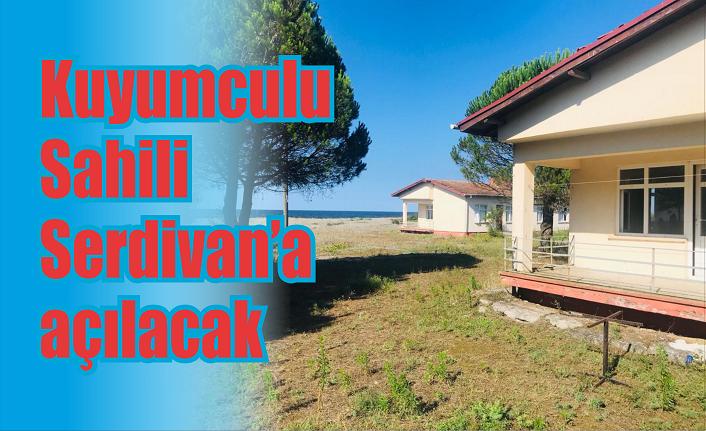 Kuyumculu sahili Serdivan'a açılacak