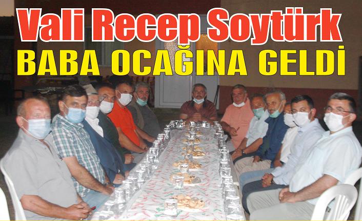 Kilis Valisi Recep Soytürk baba ocağı Karasu'ya geldi