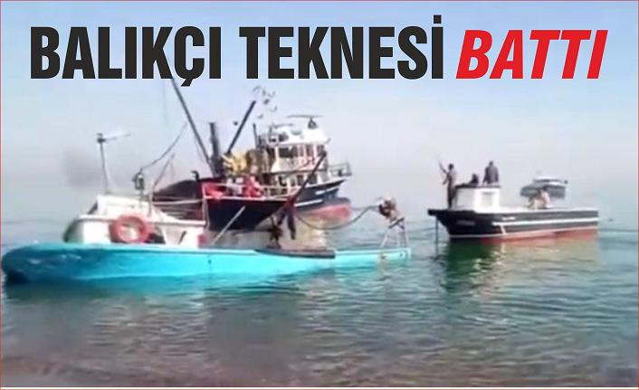 Denizde panik!