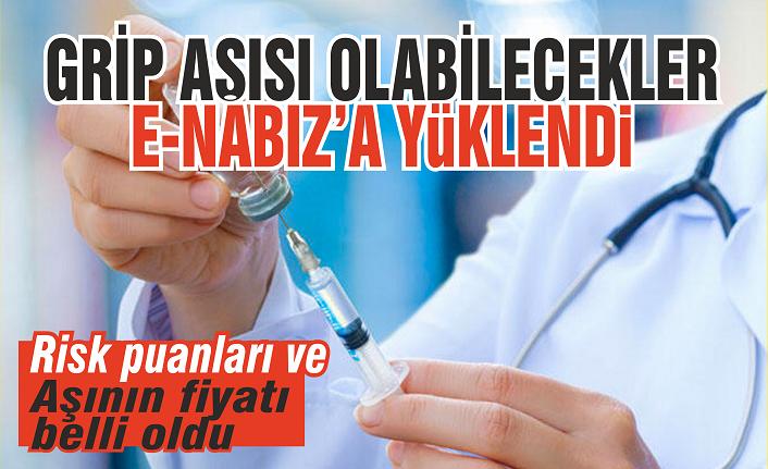 Grip aşısı olabilecekler e-Nabız'a yüklendi