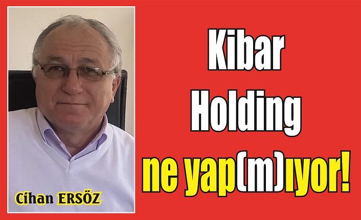 Kibar Holding ne yap(m)ıyor!
