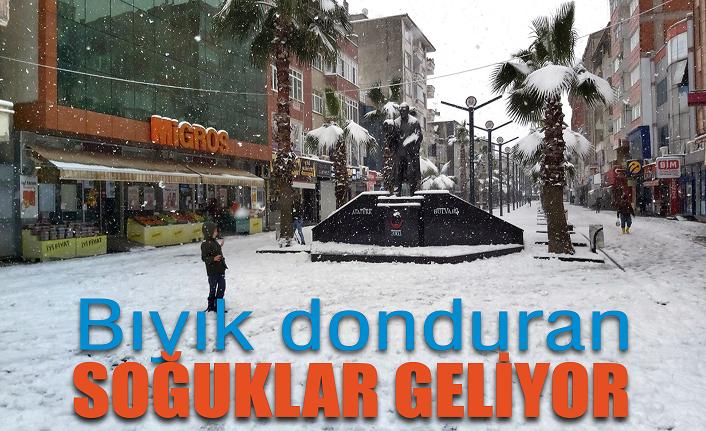 Marmara Bölgesi'ne bıyık donduran soğuklar geliyor