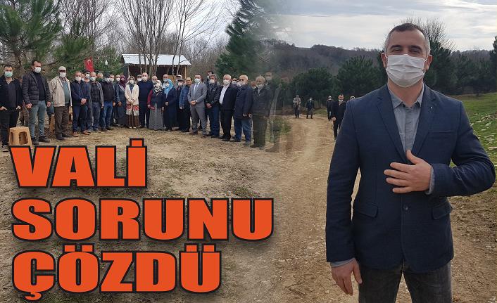Vali Hürriyet'in sorununu çözdü!