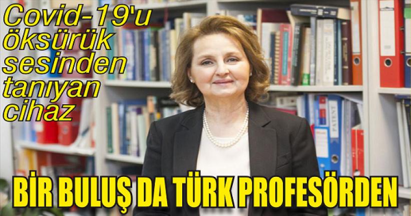 Bir buluş da Türk profesörden…
