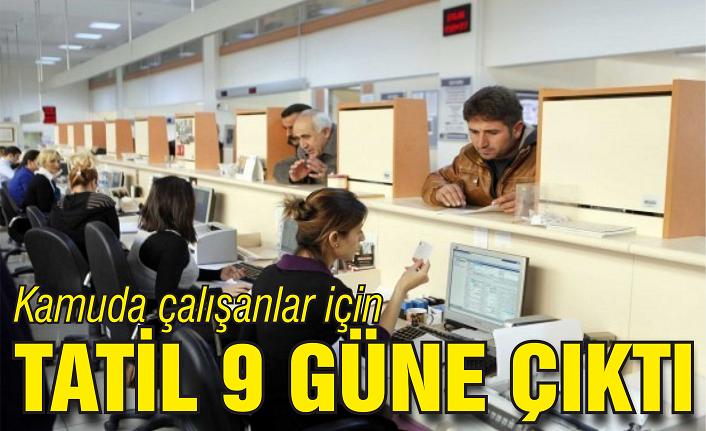 Kamuda çalışanlar için idari izin kararı!