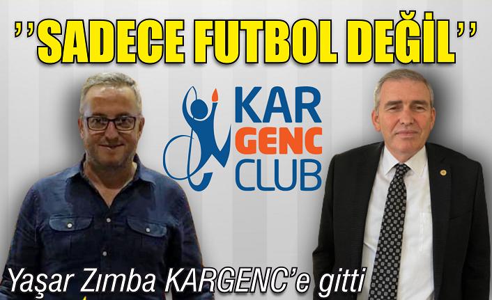 ASKF Başkanı Yaşar Zımba KARGENC'teydi