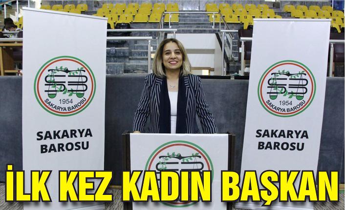 Baroya ilk kez kadın başkan