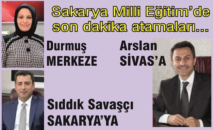 İl Milli Eğitim'de beklenen değişiklik: Fazilet Durmuş merkeze Ergüven Arslan Sivas'a