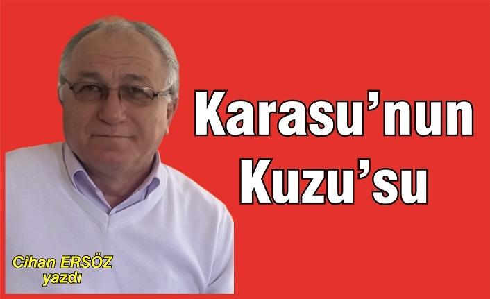 Karasu'nun 'Kuzu'su!