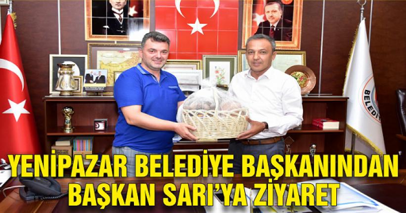 Yenipazar Belediye Başkanından, Başkan İshak Sarı'ya ziyaret