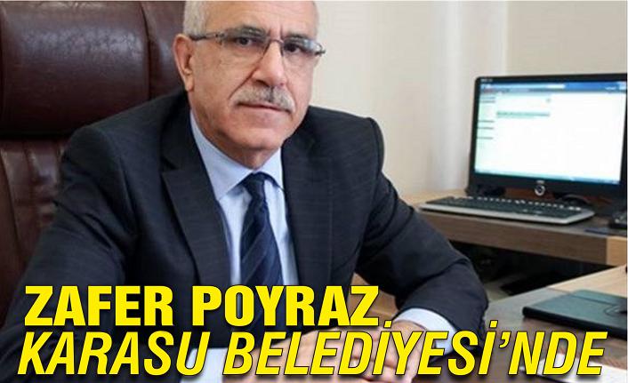 Zafer Poyraz Karasu Belediyesi'nde