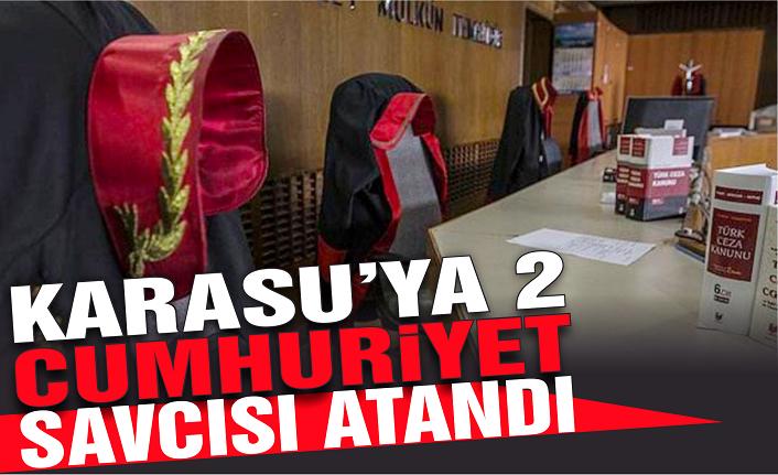 Hakim ve savcı atamaları yapıldı: Karasu'ya 2 savcı geldi
