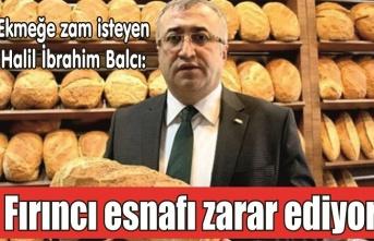"""Balcı: """"Ekmeğe zam kaçınılmaz!"""""""