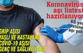 Liste çıkarılıyor: Bu aşı gençlere yapılacak