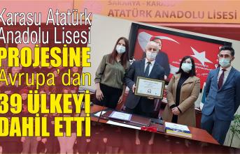 Atatürk Anadolu Lisesi Karasu'da bir ilki gerçekleştirdi