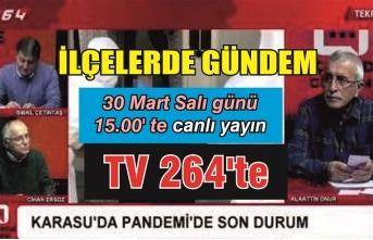 TV264'te İlçelerde Gündem Salı günü saat 15.00'te