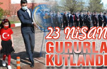 23 Nisan Ulusal Egemenlik ve Çocuk Bayramı gururla kutlandı