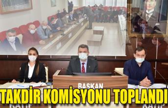 Takdir Komisyonu toplandı