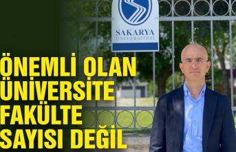 Serbes: Önemli olan üniversite, fakülte sayısı değil