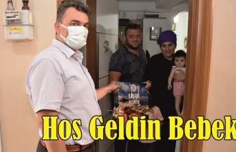 Karasu Belediyesi'nden yeni uygulama: 'Hoş Geldin Bebek'