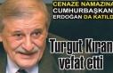 Denizcilik sektörünün duayenlerinden… Turgut...