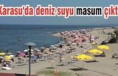 Karasu'da deniz suyu masum çıktı