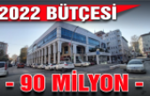 2022 bütçesi 90 milyon