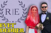 Mutlulukları düğünle taçlandı
