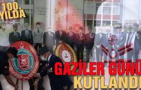 Karasu'da Gaziler Günü için tören düzenlendi
