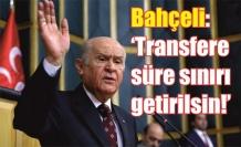 MHP: 'Milletvekili transferine süre sınırı getirilsin'