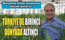 Karasulu bilim insanından büyük başarı: Türkiye birincisi, dünya altıncısı