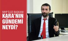MHP'li başkan Kara basın açıklamasını yaptı