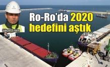 Ro-Ro'da 2020 hedefi %25 aşıldı