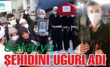 Sakarya, şehidi Selim Gedik'i son yolculuğuna uğurladı