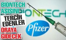 Pfizer Biontech aşısı sadece orada yapılacak!