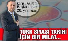 Hasan Yavuzyiğit: Türk siyasi tarihi için milat...
