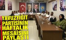 Karasu Ak Parti'den haftalık rapor