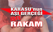 Karasu'nun aşılanma sayısı açıklandı!