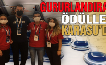 Gururlandıran ödüller Ankara'dan Karasu'ya geldi