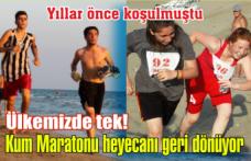 Kum Maratonu heyecanı geri dönüyor