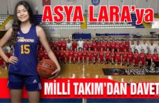 Asya Lara'ya Milli Takım'dan davet