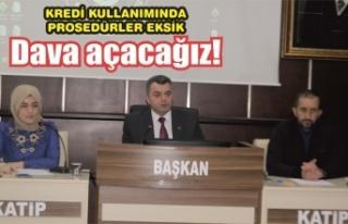 Belediye Başkanı Sarı: 'Dava açacağız!'