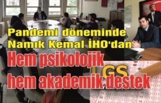 Namık Kemal İHO'dan hem psikolojik hem akademik...