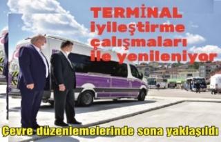 Terminal çalışmalarında sona yaklaşıldı