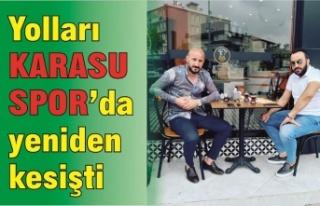Yolları Karasuspor'da yeniden kesişti