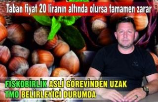 FİSKOBİRLİK ASLİ GÖREVİNDEN UZAK TMO BELİRLEYİCİ...