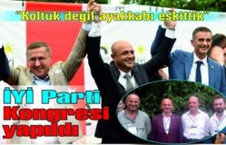İYİ Parti Kongresi yapıldı... Selçuk Kılıçaslan...