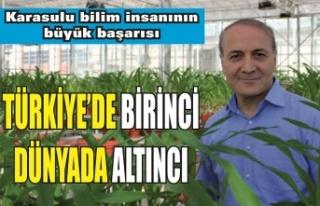 Karasulu bilim insanından büyük başarı: Türkiye...