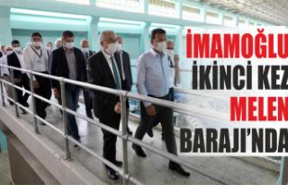 İmamoğlu 11 ay sonra yeniden Melen Barajı'nda
