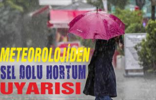 Meteorolojidensel, dolu ve hortum uyarısı